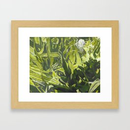 Grazing in the Grass_painting Framed Art Print
