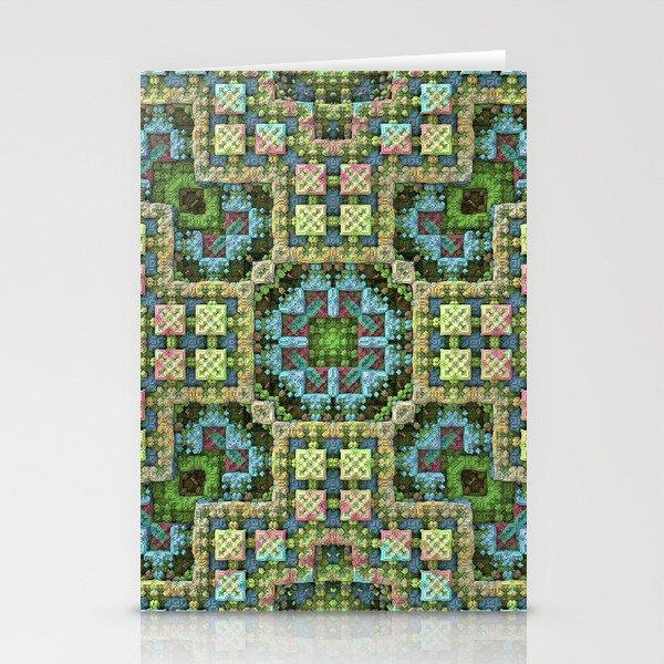 """""""Needlepoint Sampler"""" (3D Fractal) Stationery Cards"""