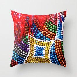 Maracatu Throw Pillow