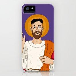 North Korean Jesus iPhone Case