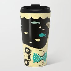 Panda Seal Metal Travel Mug