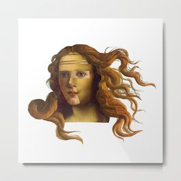 Venus Lisa Metal Print