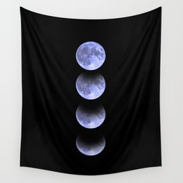 Blue Moon Wall Tapestry