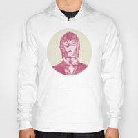 c3po Hoodies featuring C3PO by Les petites illustrations