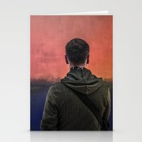 rothko Stationery Cards featuring Watching Rothko by Hipogrifos