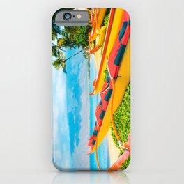 Hui wa'a O Kihei iPhone Case