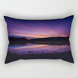 Pahranagat National Wildlife Refuge Sunsets - NV Rectangular Pillow