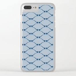 Churchwarden Pipe Pattern Clear iPhone Case