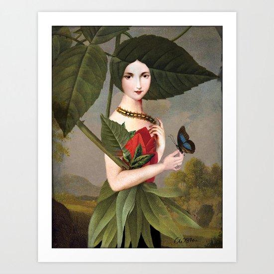 The Rose Garden Art Print