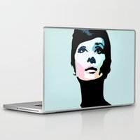 posters Laptop & iPad Skins featuring Audrey Hepburn Posters by Creativehelper