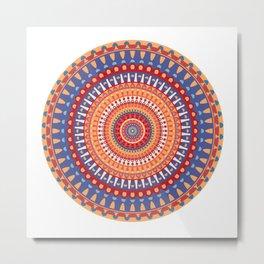 AFE Mandala 4 Metal Print