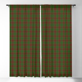 Official Baxter Clan Tartan of 1856 Blackout Curtain