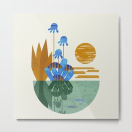 Oasis Metal Print
