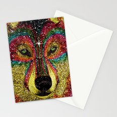 Cosmic Wild Animals Stationery Cards