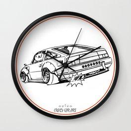 Crazy Car Art 0206 Wall Clock