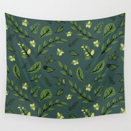 Flower Design Series 8 Wall Tapestry