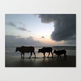 Asia-Style Canvas Print