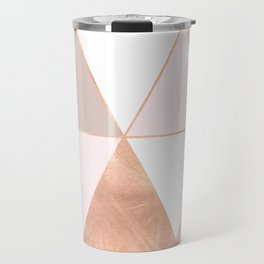 GEO TIKKI - ROSEGOLD PASTEL Travel Mug