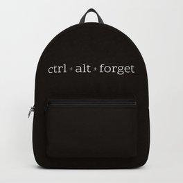 ctrl+alt+forget Backpack