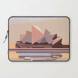 Geometric Opera House, Sydney Laptop Sleeve