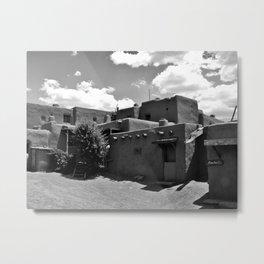 Taos Pueblos   Metal Print