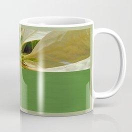 Pale Yellow Poinsettia 1 Happy Holidays Q5F1 Coffee Mug