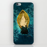 sailing iPhone & iPod Skins featuring Sailing by Elsa Herrera-Quinonez