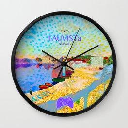FAUVISTa Sailboats Wall Clock