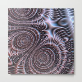 Bronze Infinity #3 Metal Print