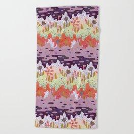 Crystal Forest Beach Towel
