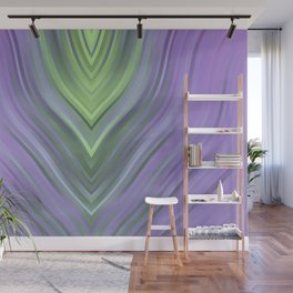 stripes wave pattern 3 cl Wall Mural