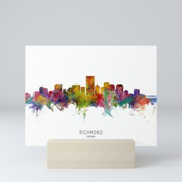 Richmond Virginia Skyline Mini Art Print
