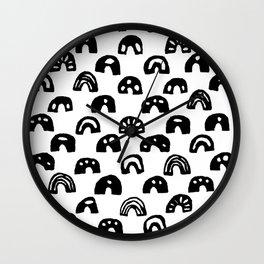 Binary Bumps Wall Clock