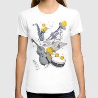 jazz T-shirts featuring Jazz Jazz Jazz by Philipp Zurmöhle