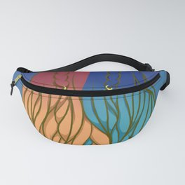 Cheery Royal Fanny Pack