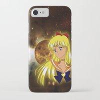 sailor venus iPhone & iPod Cases featuring Sailor Venus by Maren Lex