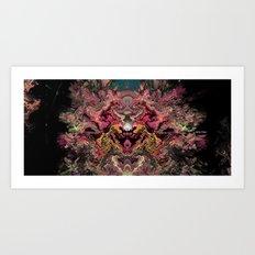 d3 Art Print