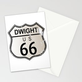 Dwight Route 66 Stationery Cards
