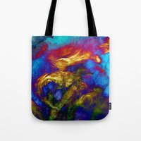 phoenix Tote Bags featuring Phoenix by George Michael Art