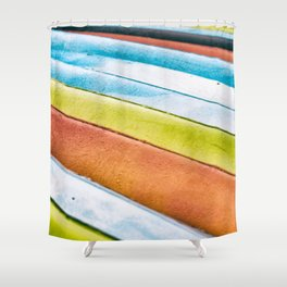 The Color of Kayaks... Shower Curtain