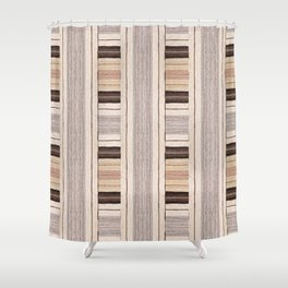 Flat Weavin 3 Shower Curtain