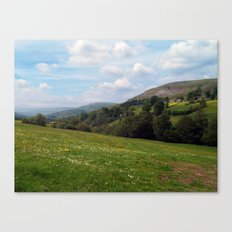 Upper Swaledale Canvas Print