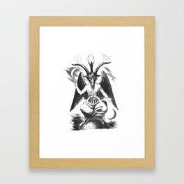 Baphomet - Satanic Church Framed Art Print