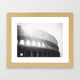 Collosseum Framed Art Print