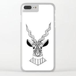 Le Blackbuck Clear iPhone Case