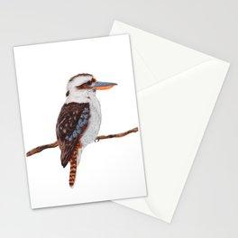 Kookaburra Watercolor Stationery Cards