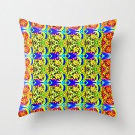 Circle design number 6 Throw Pillow