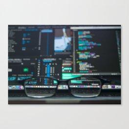 Program Canvas Print