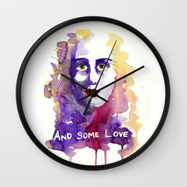 And some love Wall Clock