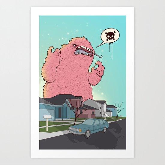 Die like the Dinosaurs Art Print